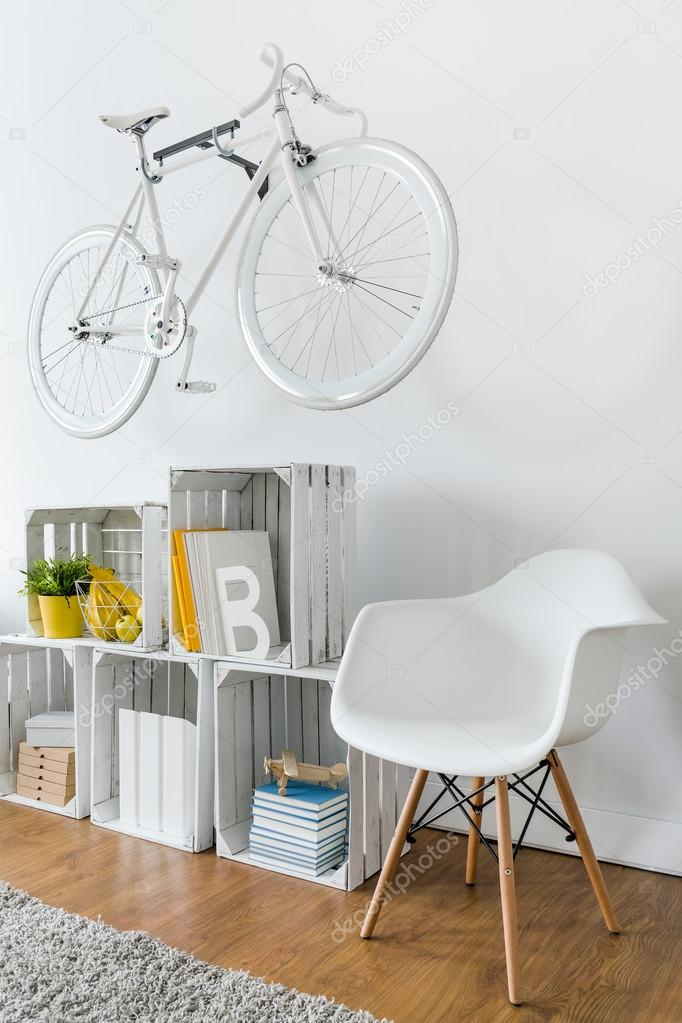 Diy prateleira no quarto hipster stock photo 96977024 - Hipster zimmer ...