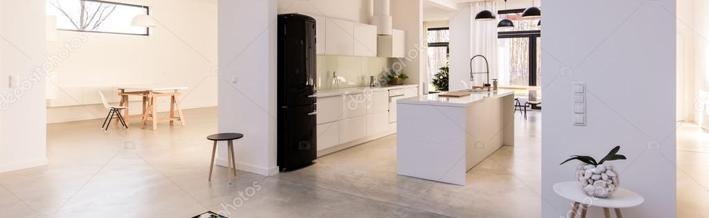 Cucina luce design contemporaneo — Foto Stock © photographee.eu ...