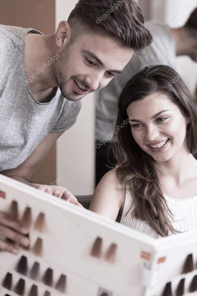 Dating haarkleur dating website chat gratis