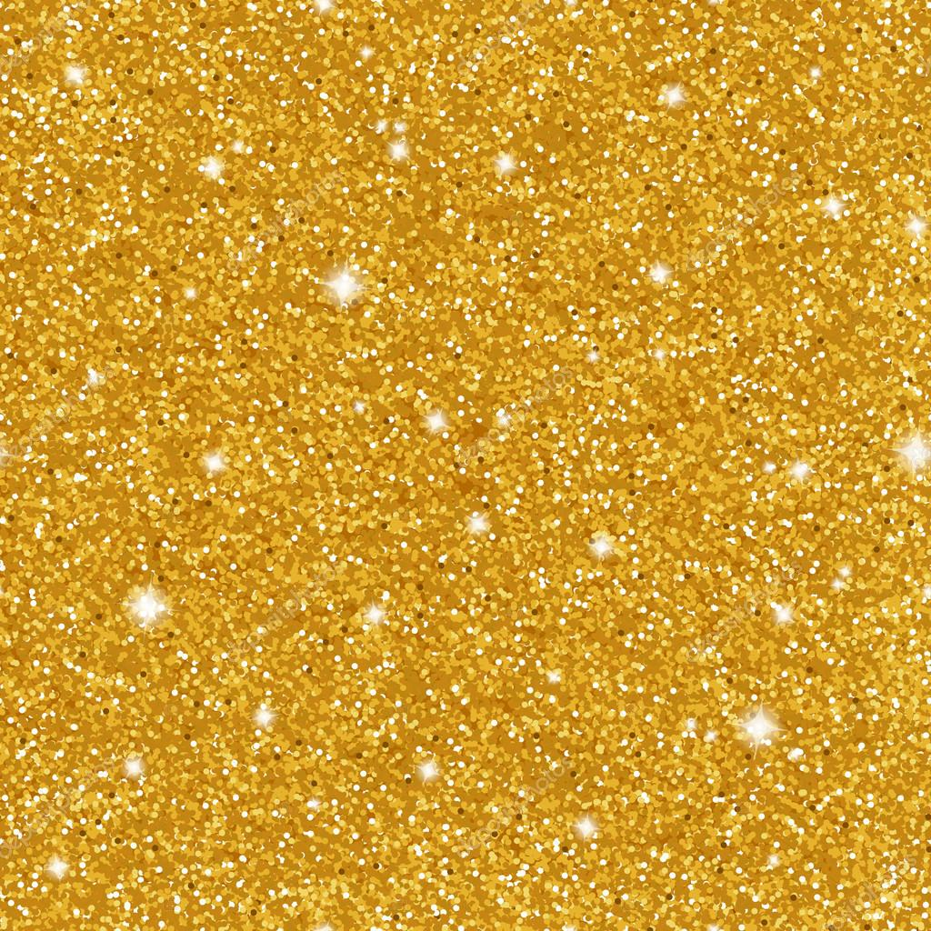 Abstract sparkle golden seamless pattern metallic style glitter metallic style glitter background with glowing elements can be used for web design christmas card poster party invitation vector illustration stopboris Image collections