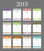 Nástěnný kalendář v minimalistický styl