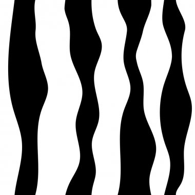 Monochrome abstract pattern. Wavy lines background. Seamless pattern can be copied without any seams. stock vector