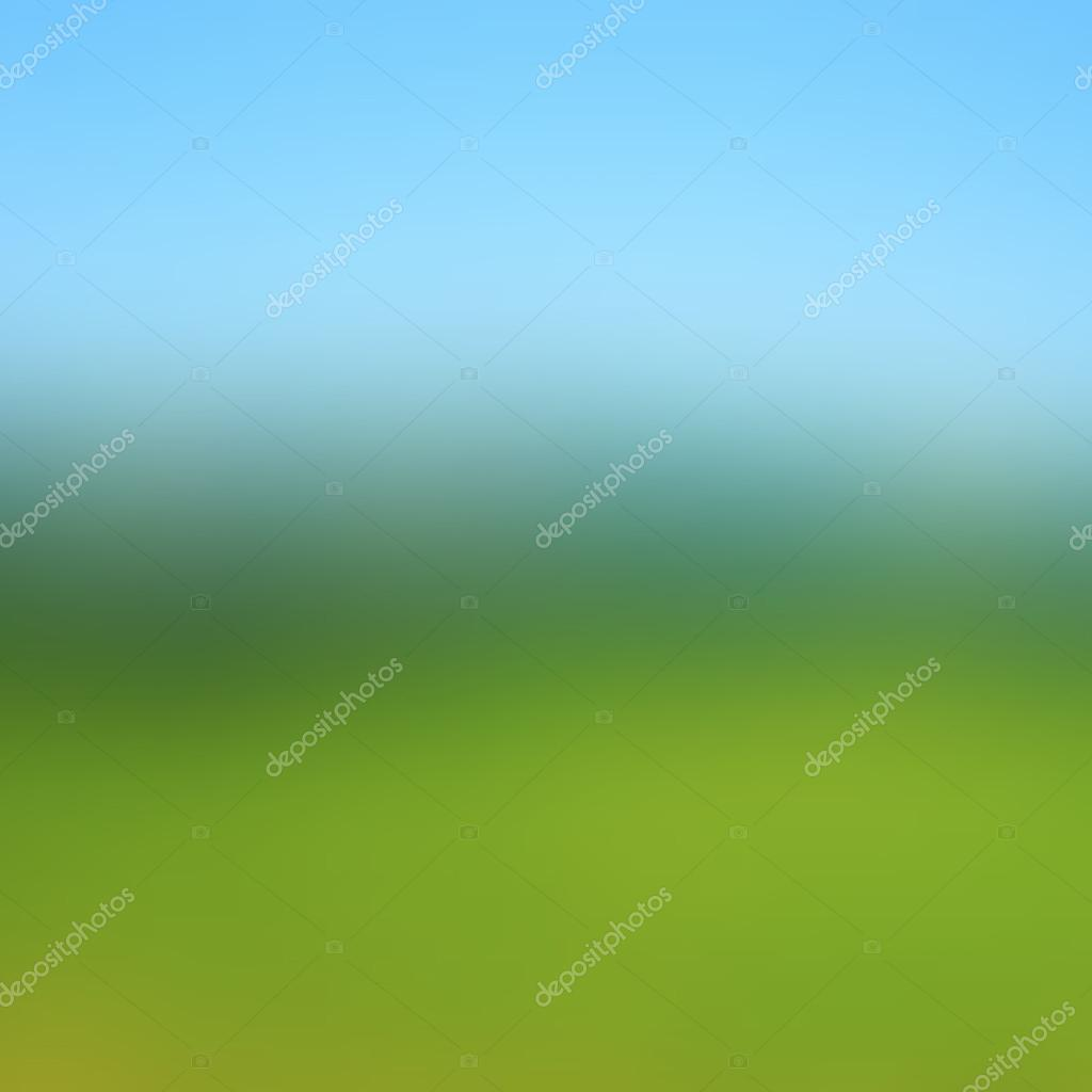 Abstract colorful blurred vector background. Forest and sky style. Nature theme illustration.