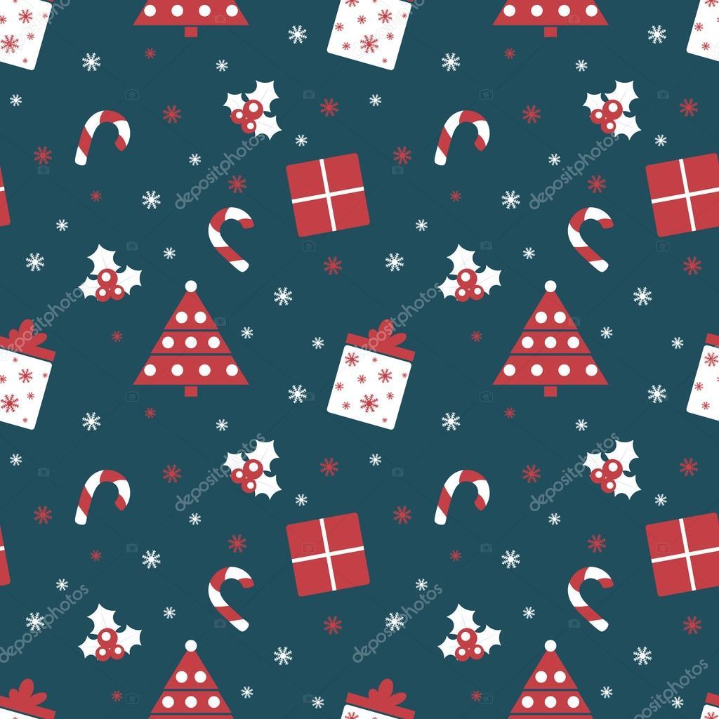 Frohe Weihnachten und Happy New Year. Winterurlaub Hintergrund ...