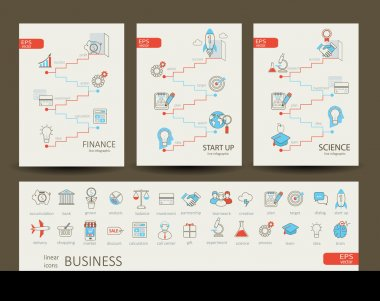 infographics finance, science, start up concept
