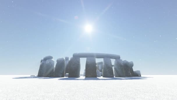 Stonehenge im winter
