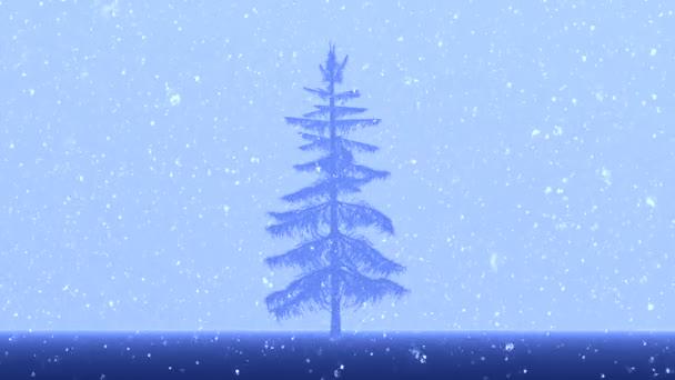Render-felvétel Christmas tree
