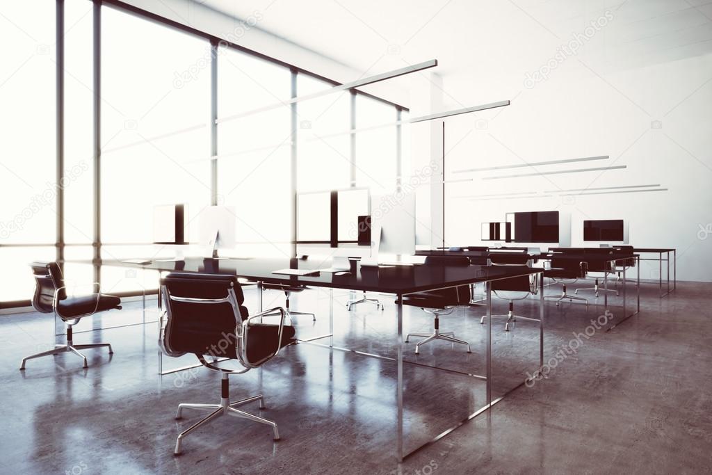 Photo modern wifi zone vip lounge airport with panoramic windows ...