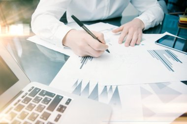 Investment manager working process