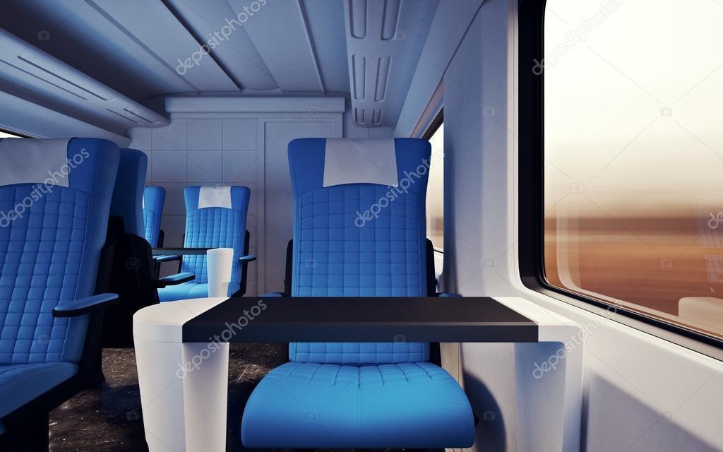 Swell Interior Inside First Class Cabin Modern Speed Express Train Frankydiablos Diy Chair Ideas Frankydiabloscom