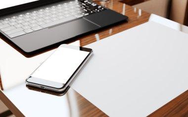 Modern Smartphone Screen