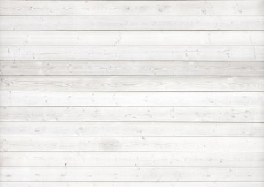 White wood background