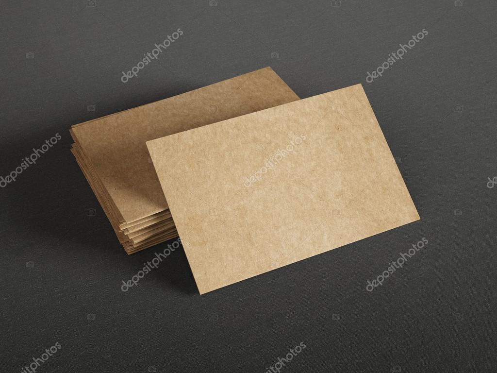 Karton Visitenkarten Stockfoto Kantver 56621759
