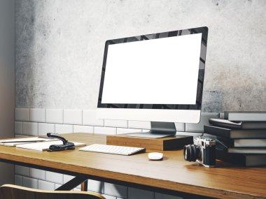 generic design computer screen