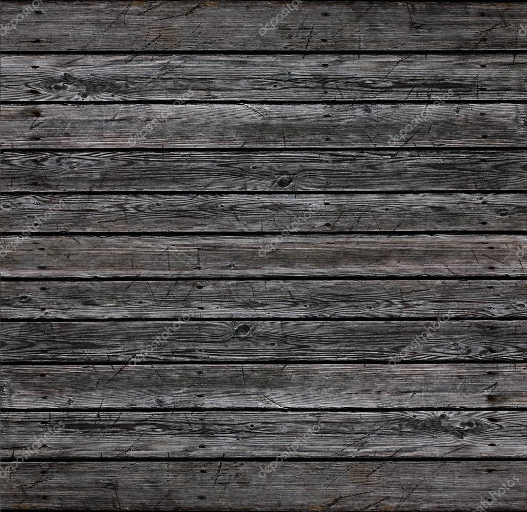 Wall of natural gray wood