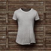 Šedé tričko, samostatný