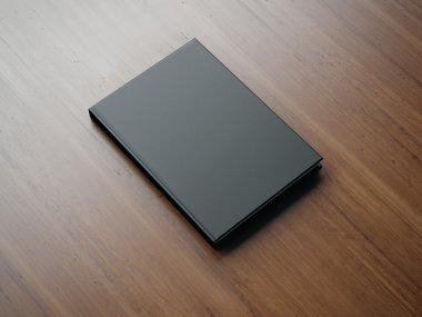 Mockup of black book