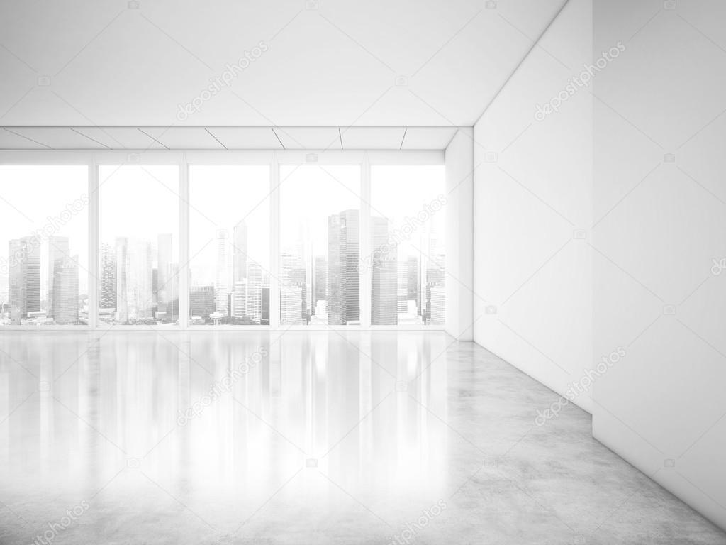 Finestre panoramiche all 39 interno di ufficio con vista - Finestre panoramiche ...
