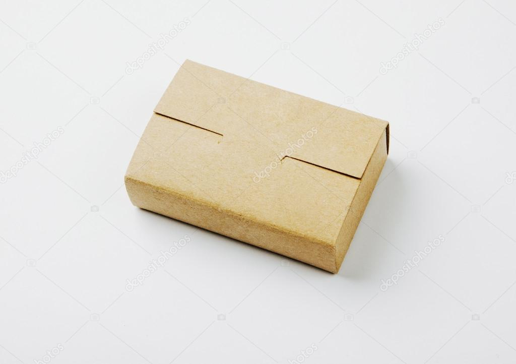 Photo of craft business cards box — Stock Photo © kantver #98717202