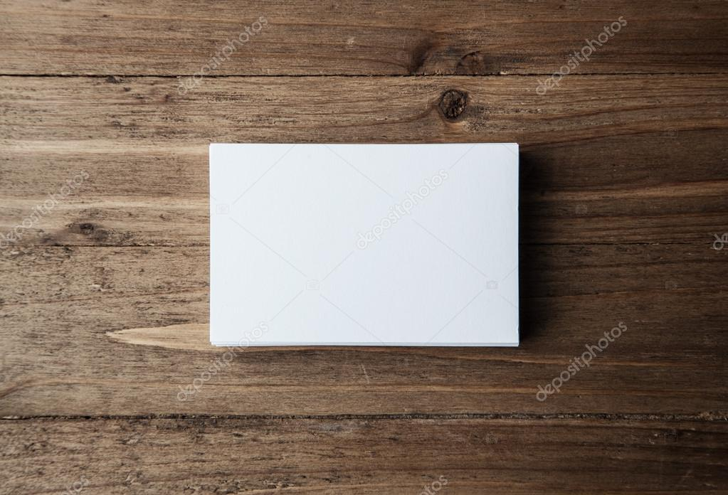 Stack of blank white business cards stock photo kantver 98718814 stack of blank white business cards stock photo reheart Image collections