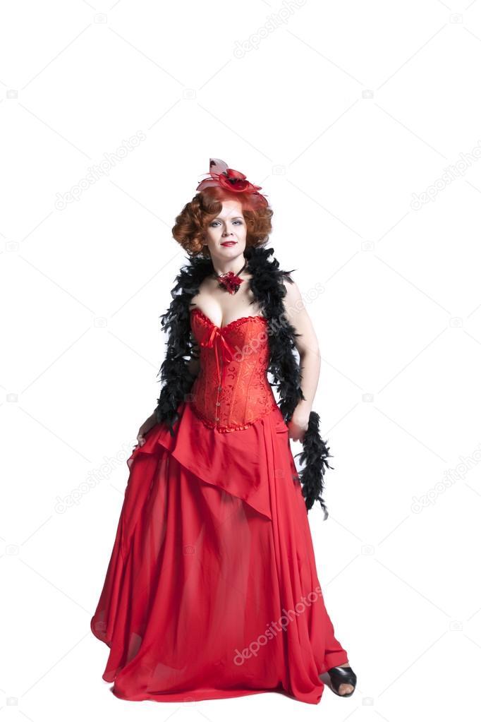 rode jurk carnaval