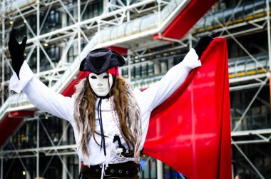 Pirate street artist