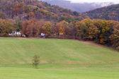 Autumn landscape in West Virginia