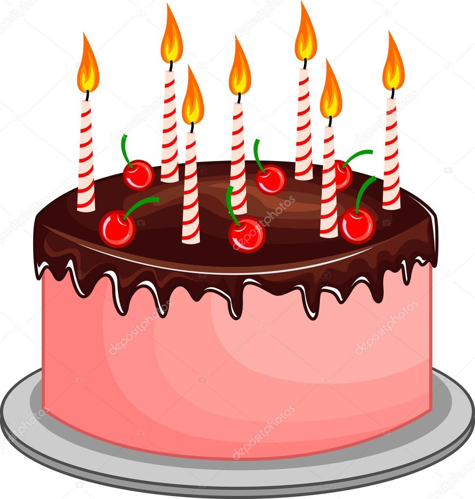 Pictures O Cakes With Candles