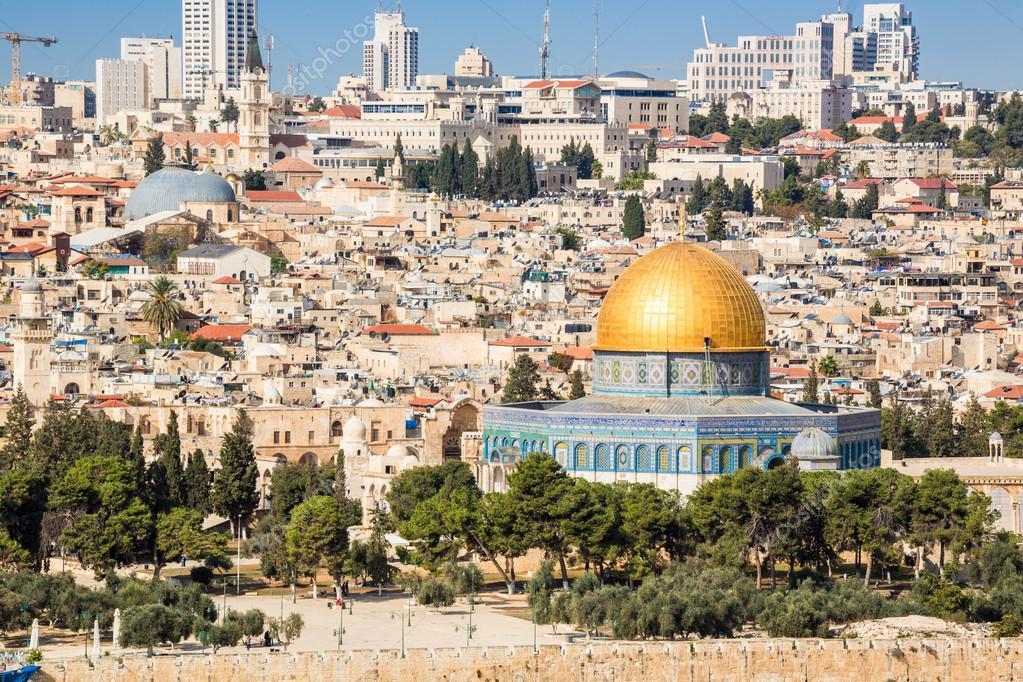 Paisaje Urbano De Jerusalén, Israel