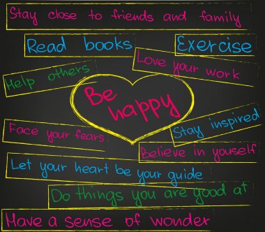 Be happy heart
