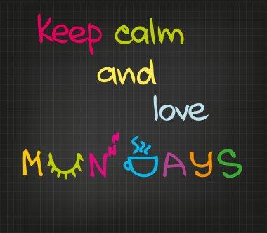 Monday attitude