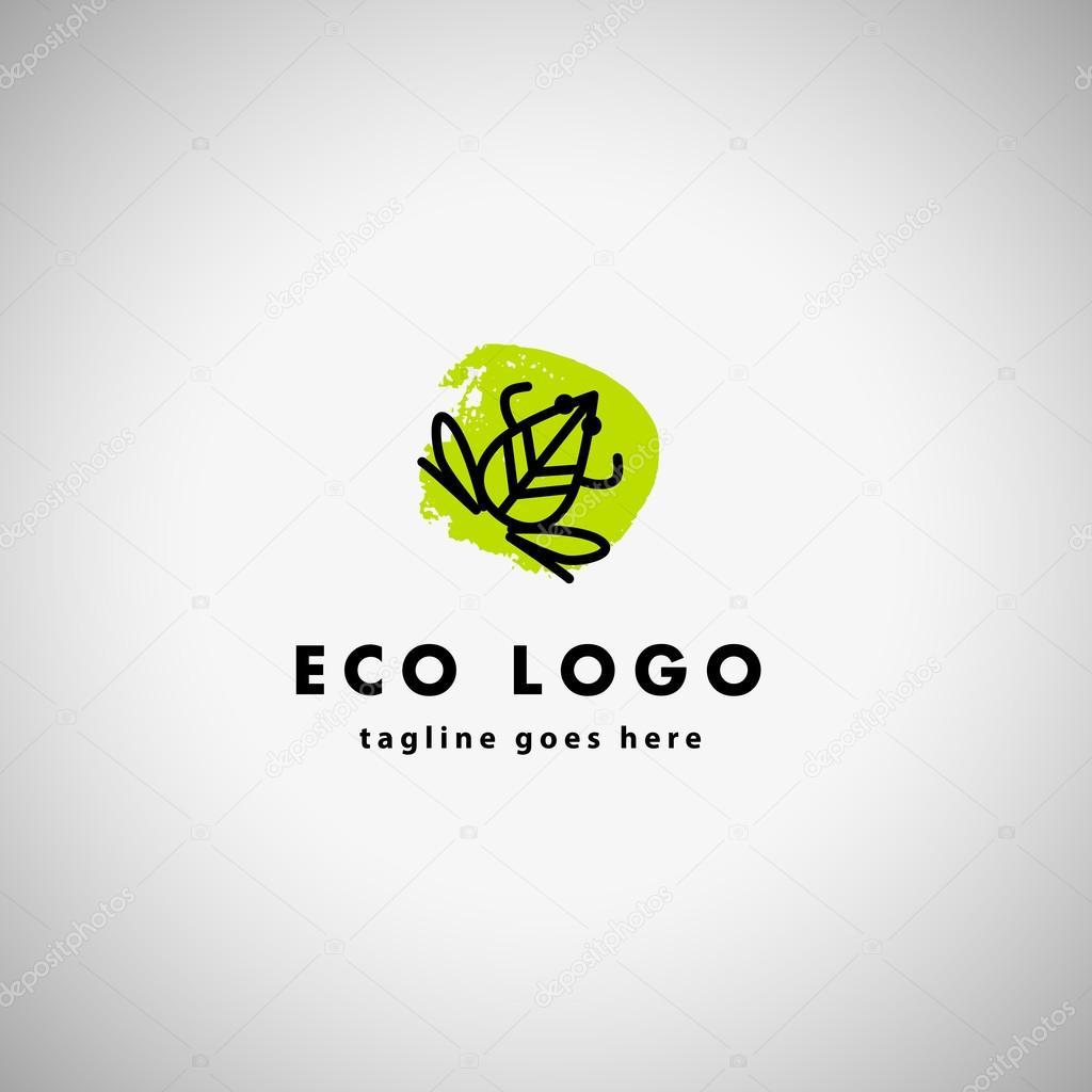 Simple flat logo — Stock Vector © artflare #96288348