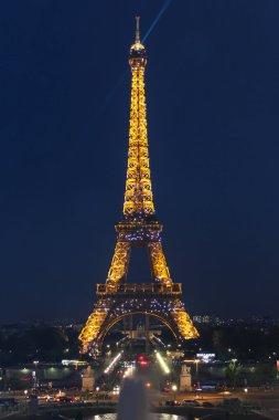 PARIS - SEPTEMBER 04: Light Performance Show on September 04, 2012