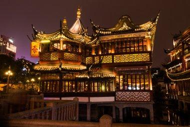 Chinese traditional Yuyuan Garden in Shanghai