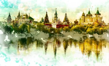 Izmaylovo Kremlin in Moscow, Russia