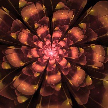 "Картина, постер, плакат, фотообои ""digitally recreated watercolor flower texture"", артикул 75055179"