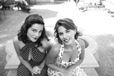 stylish retro Girls