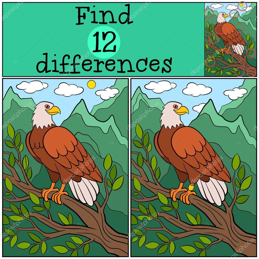 картинка для детей орел