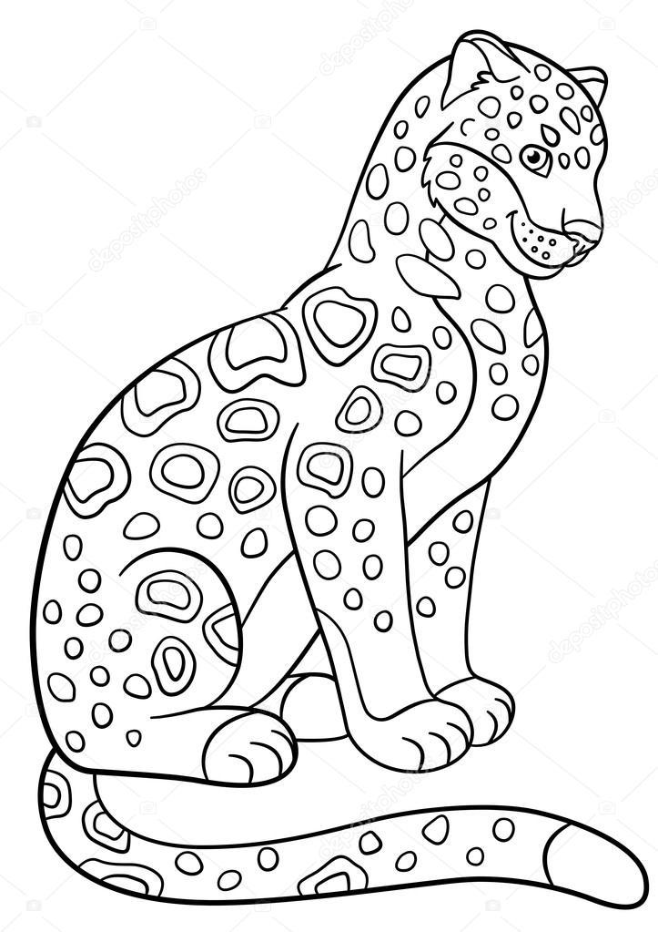 Imágenes: gato montes para colorear | Dibujos para colorear ...