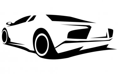 Silhouette tuning car