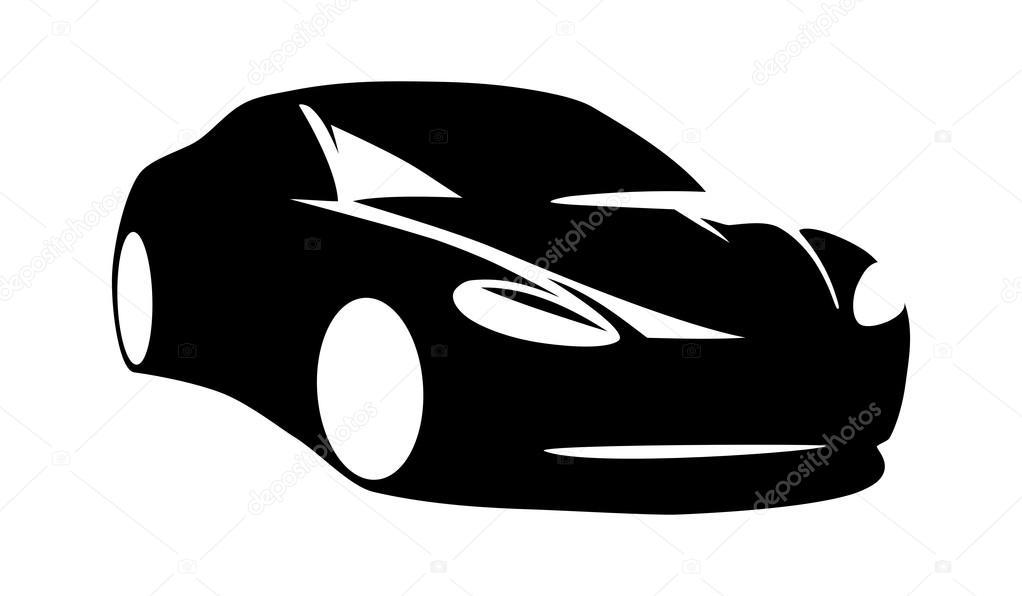 Modern Car Silhouette Vector Stock Vector C Kerpet 97172898