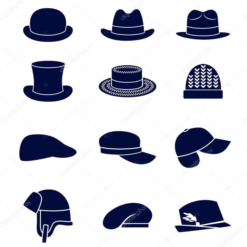 Different Hat Styles: Stock Vector © Ksena-Shu