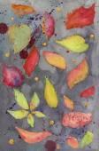 abstraktní akvarel zázemí