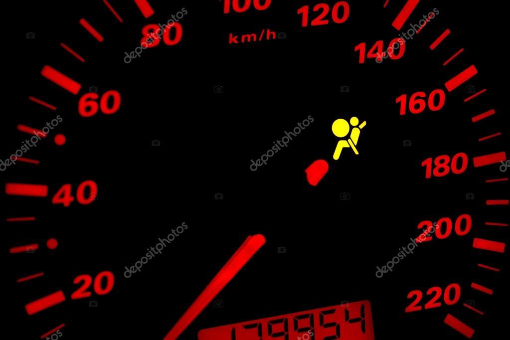 Airbag Waarschuwingslampje Stockfoto C Baloon111 65611031
