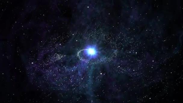 Mlhovina a hvězdy ve vesmíru