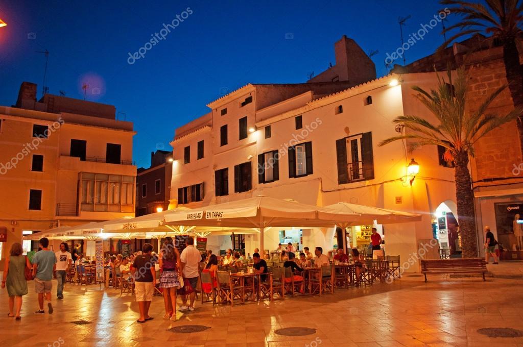 Exceptionnel Minorque, îles Baléares, Espagne : Palais dans les rues de  FS31