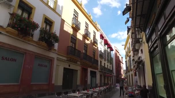 Old Town of Seville houses, Spain