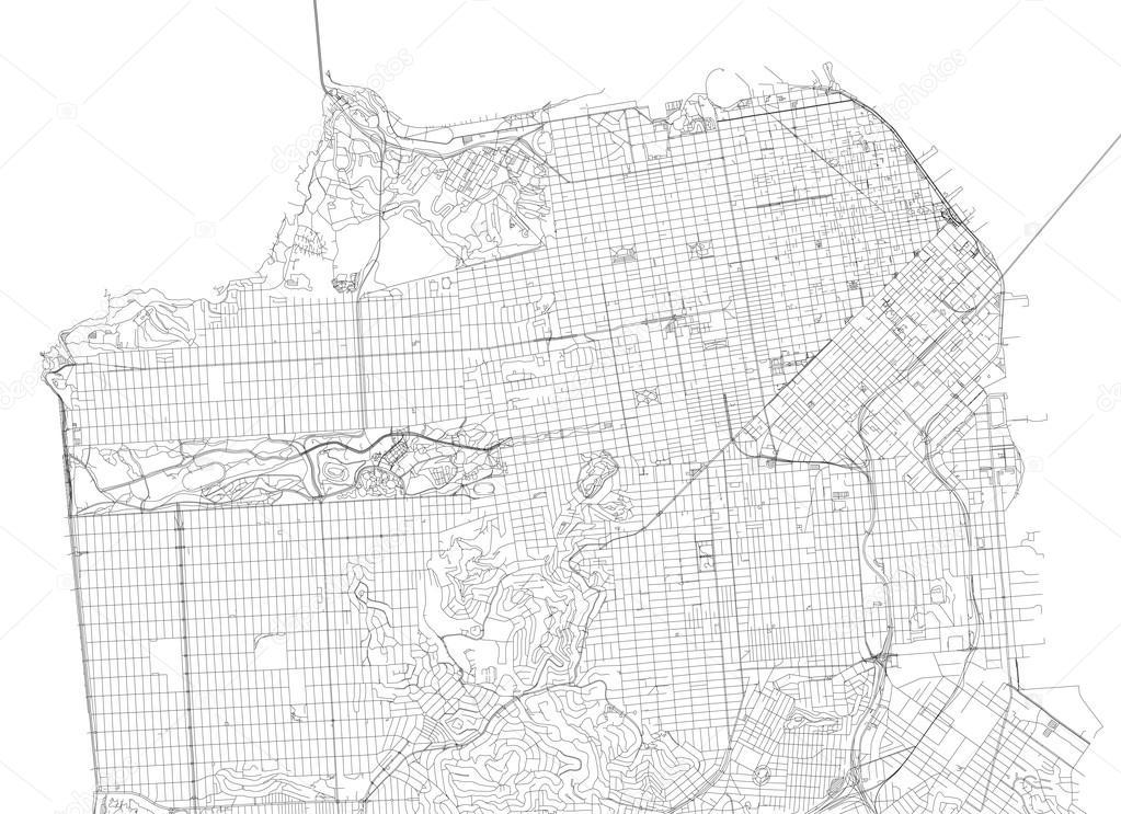 San Francisco Map In Usa Tour De Zack Zack Skerritt Health