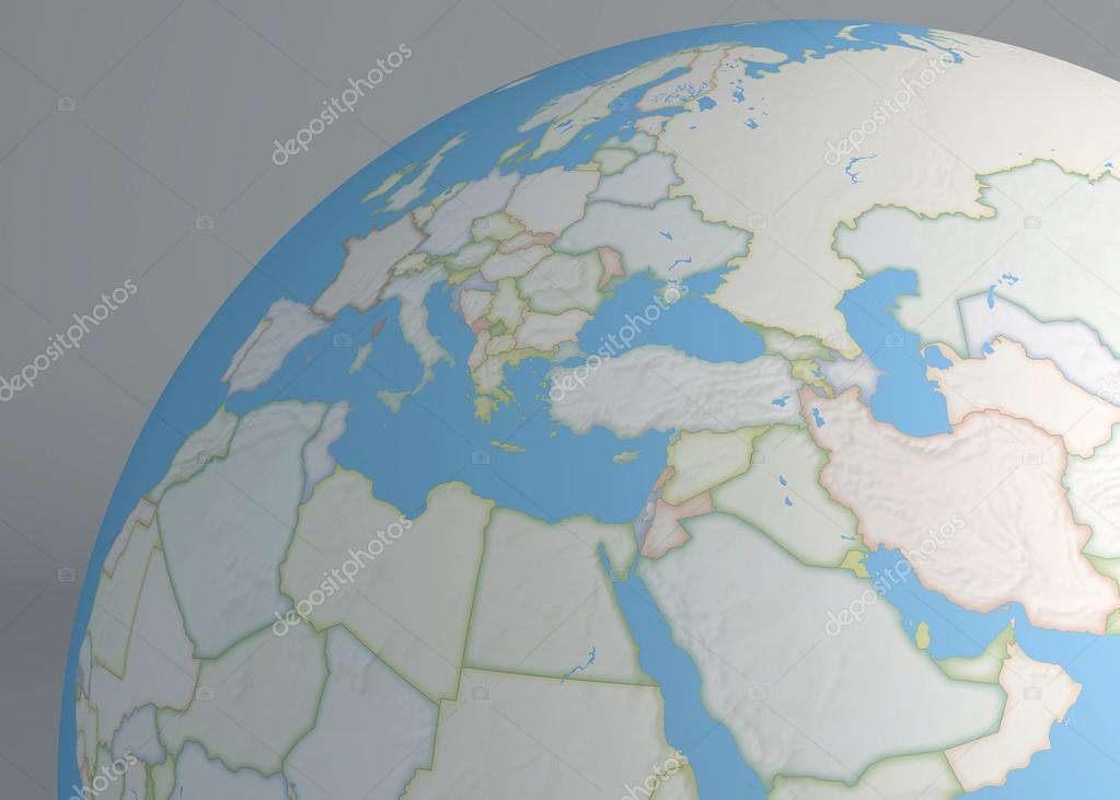 Mapa del mundo de medio oriente y europa foto de stock vampy1 mapa del mundo de medio oriente europa y frica del norte foto de vampy1 gumiabroncs Gallery