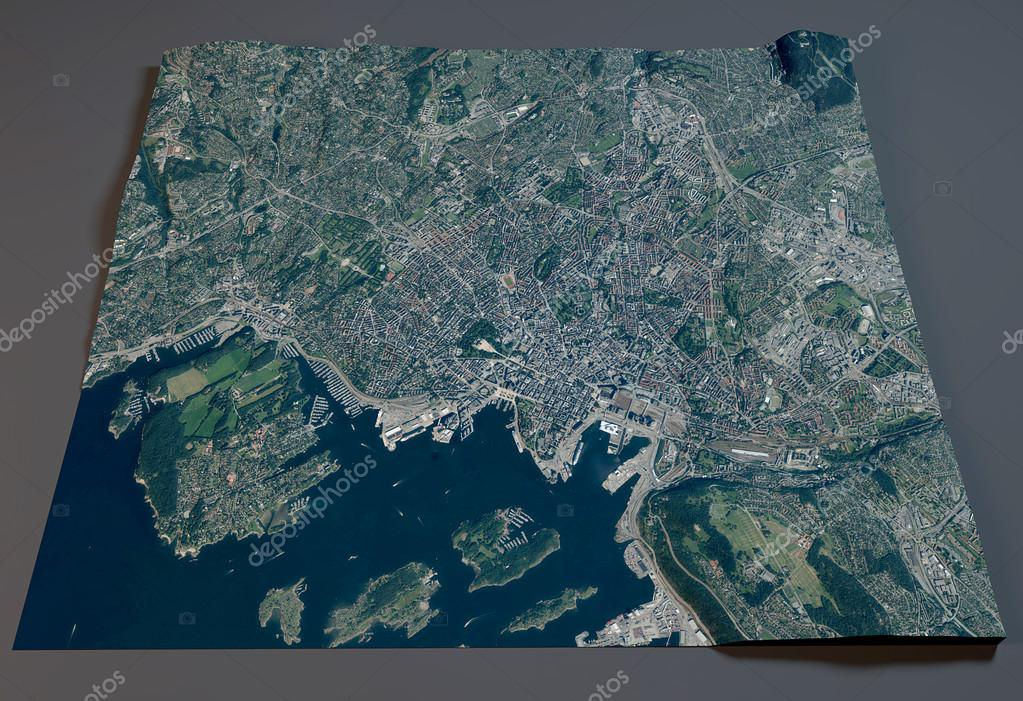 3d oslo satellite view map city norway stock photo vampy1 3d oslo satellite view map city norway photo by vampy1 sciox Gallery